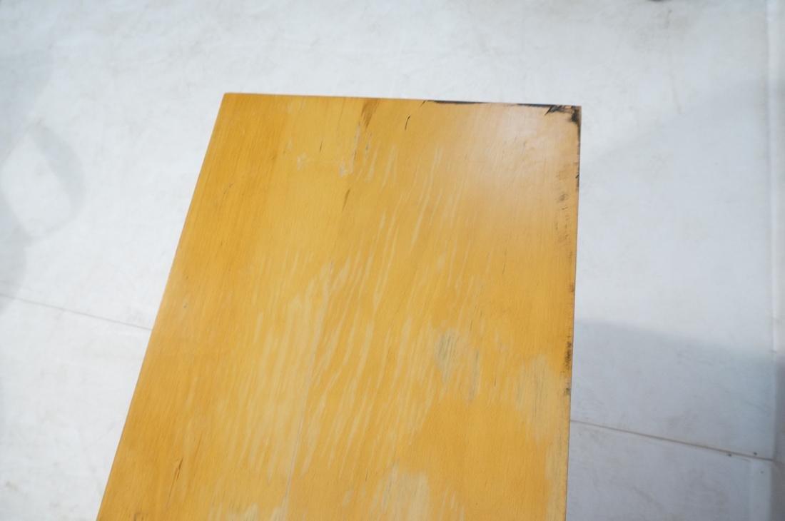 PAUL McCOBB Maple Cabinet Credenza. 3 slim drawer - 8