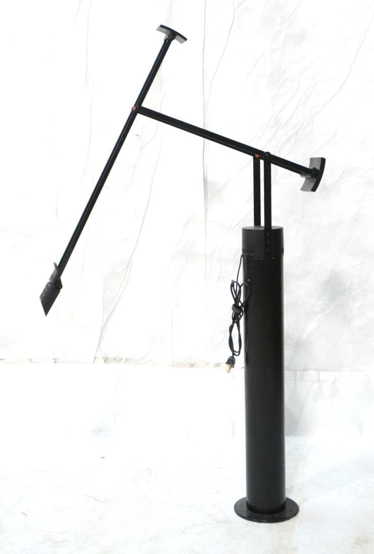 TIZIO Style Black Metal Cantilever Floor Lamp.