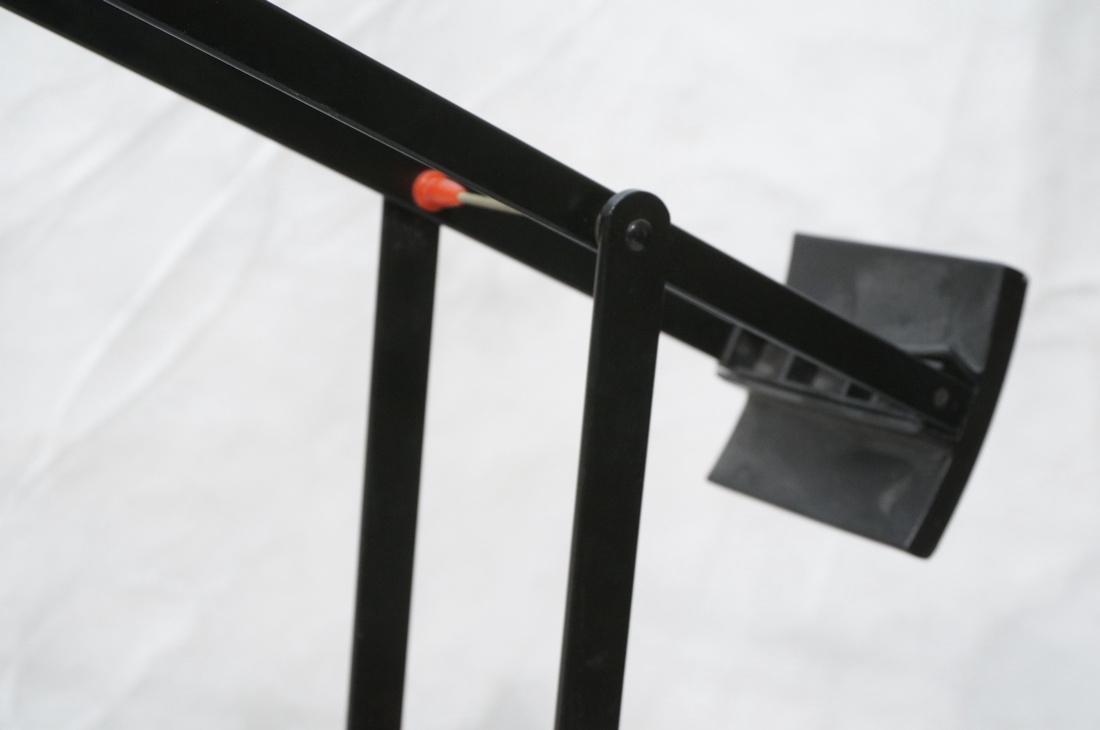 TIZIO Style Black Metal Cantilever Floor Lamp. - 4