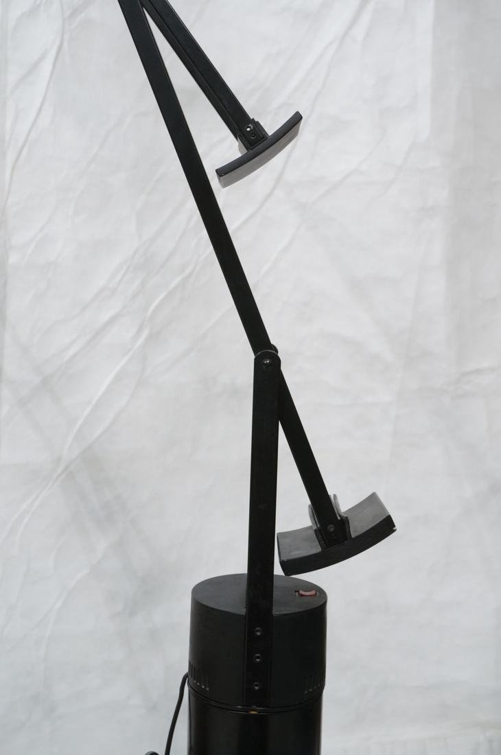 TIZIO Style Black Metal Cantilever Floor Lamp. - 7
