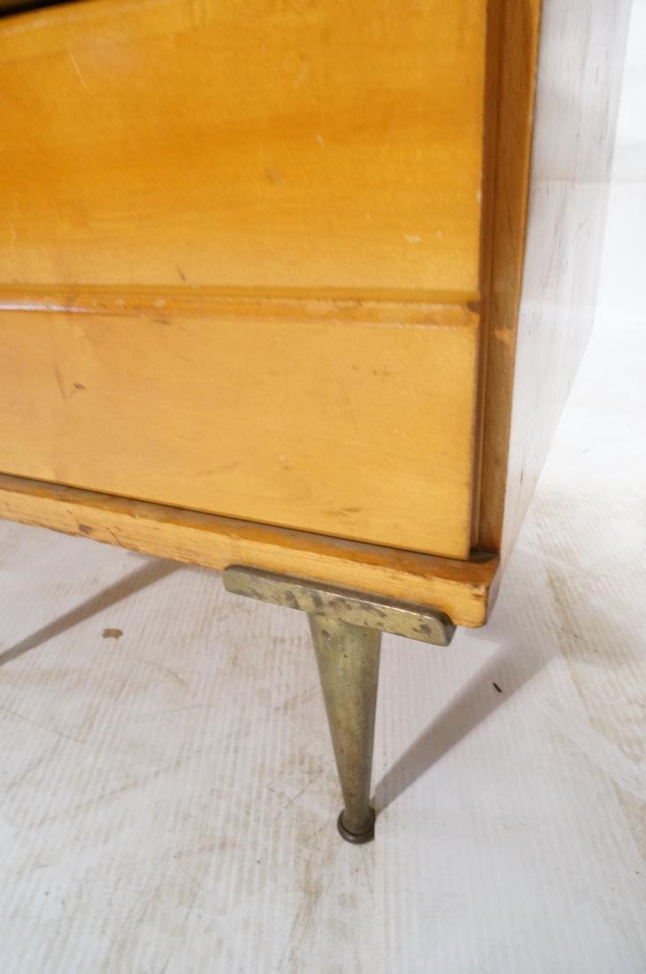 PAUL MCCOBB style 2 Door Cabinet. 2 white enamel - 8