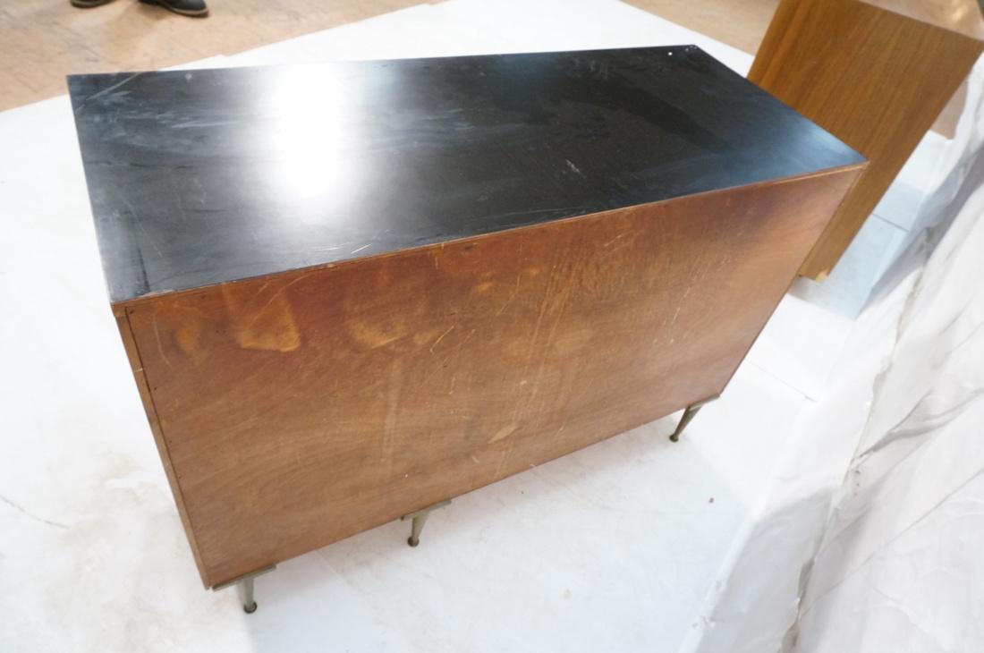 PAUL MCCOBB style 2 Door Cabinet. 2 white enamel - 9