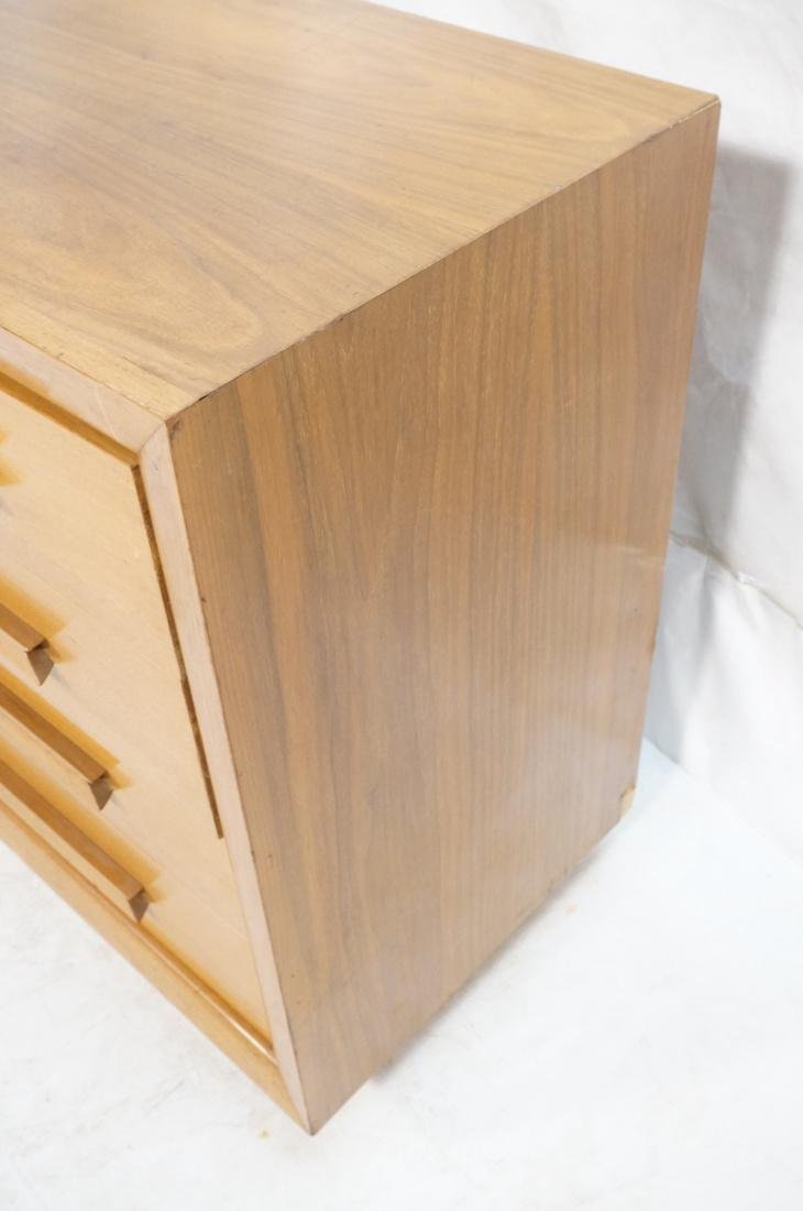 American Modern 4 Drawer Dresser Credenza Chest. - 6