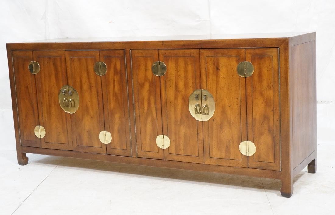 Asian Style Modernist Credenza Decorative Asian p