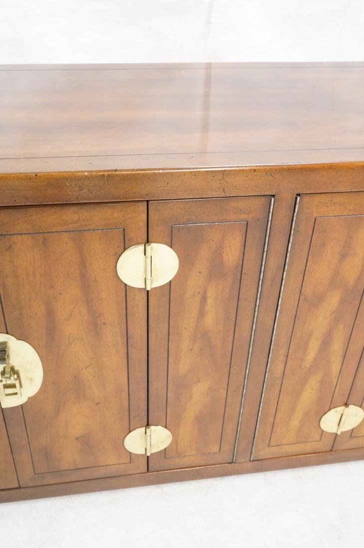 Asian Style Modernist Credenza Decorative Asian p - 5