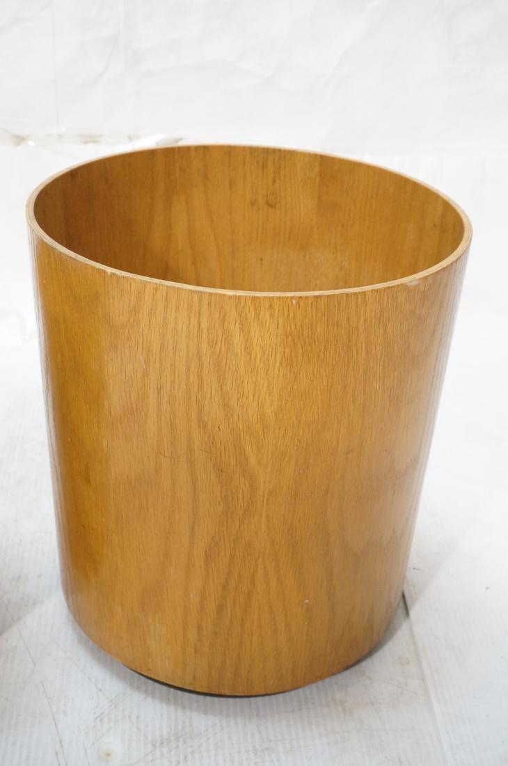 2pc Danish Teak Waste Basket Planter.  1) SEWES S - 3