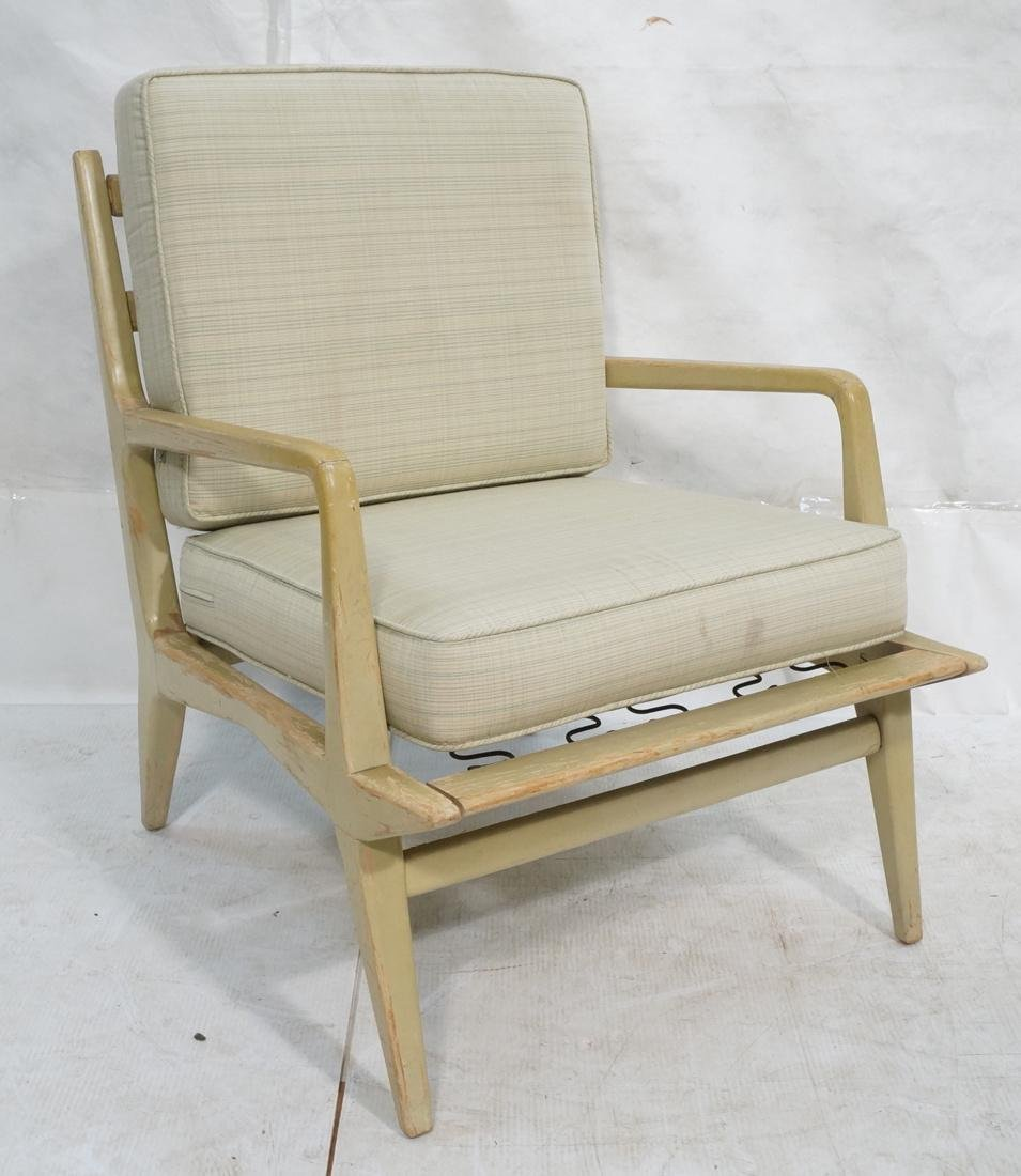 CARLO di CARLI Style Lounge Chair. Painted wood a