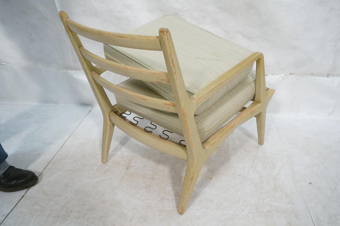 CARLO di CARLI Style Lounge Chair. Painted wood a - 9