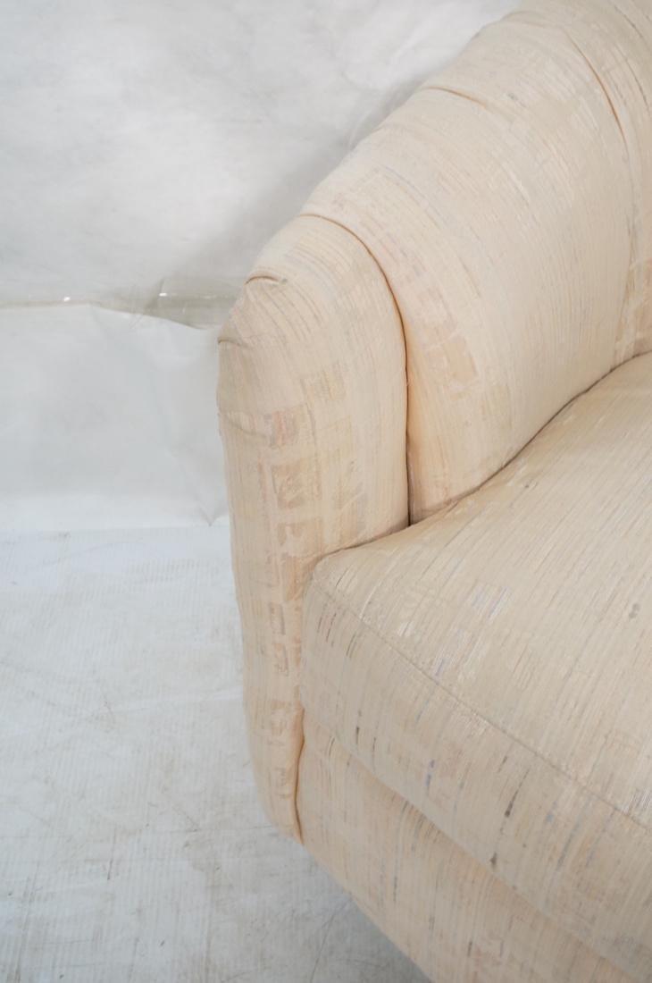 Pr Modernist Barrel Back Swivel Lounge Chairs. Pa - 6