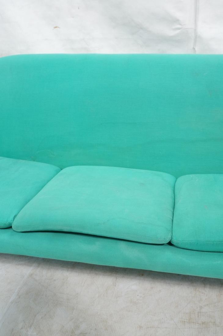 OVERMAN Modern Green Upholstered Love Seat. Sofa - 3