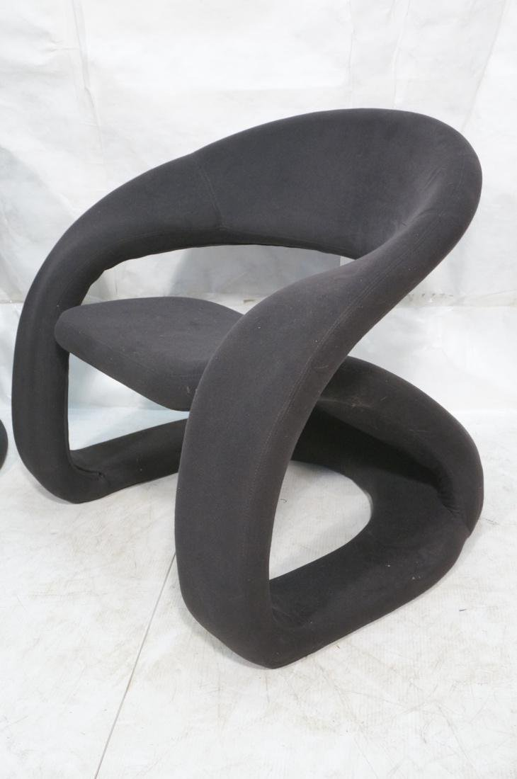 JAYMAR Furniture Ltd. Tongue Lounge Chair. Curved - 2