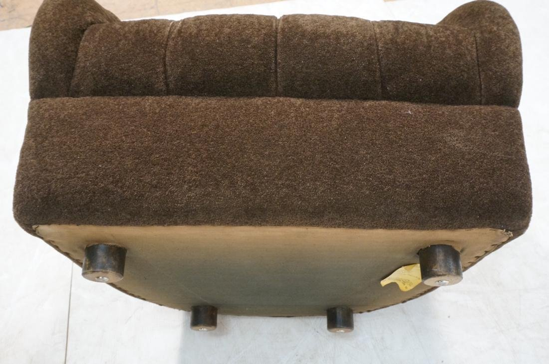 Pr WARD BENNETT Designs Brown Lounge Chairs. Barr - 10