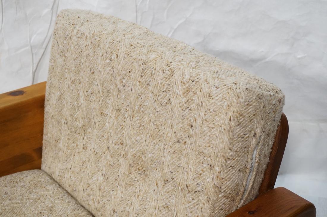 Modern Pine Cube Swivel Lounge Chair. Rocks & swi - 3
