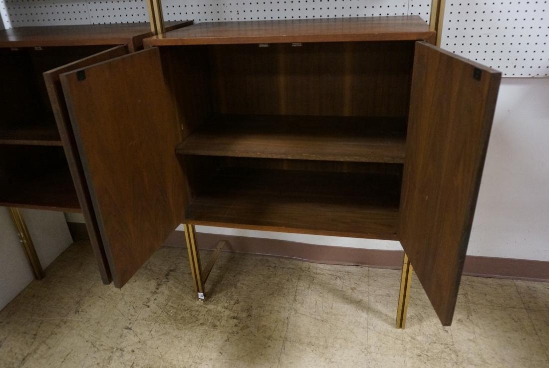 Danish Teak Modern Wall Shelf Unit. 5 Cabinets. 5 - 4