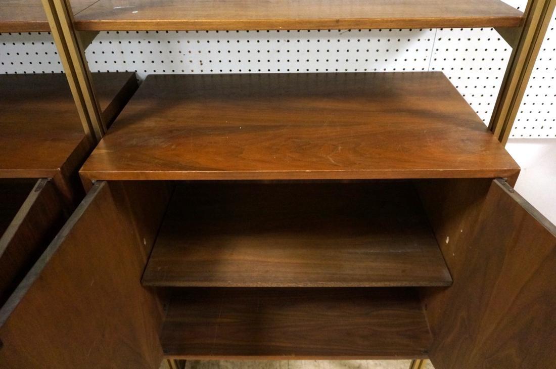 Danish Teak Modern Wall Shelf Unit. 5 Cabinets. 5 - 5