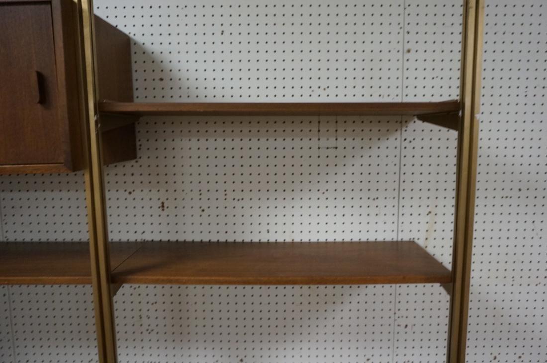 Danish Teak Modern Wall Shelf Unit. 5 Cabinets. 5 - 6