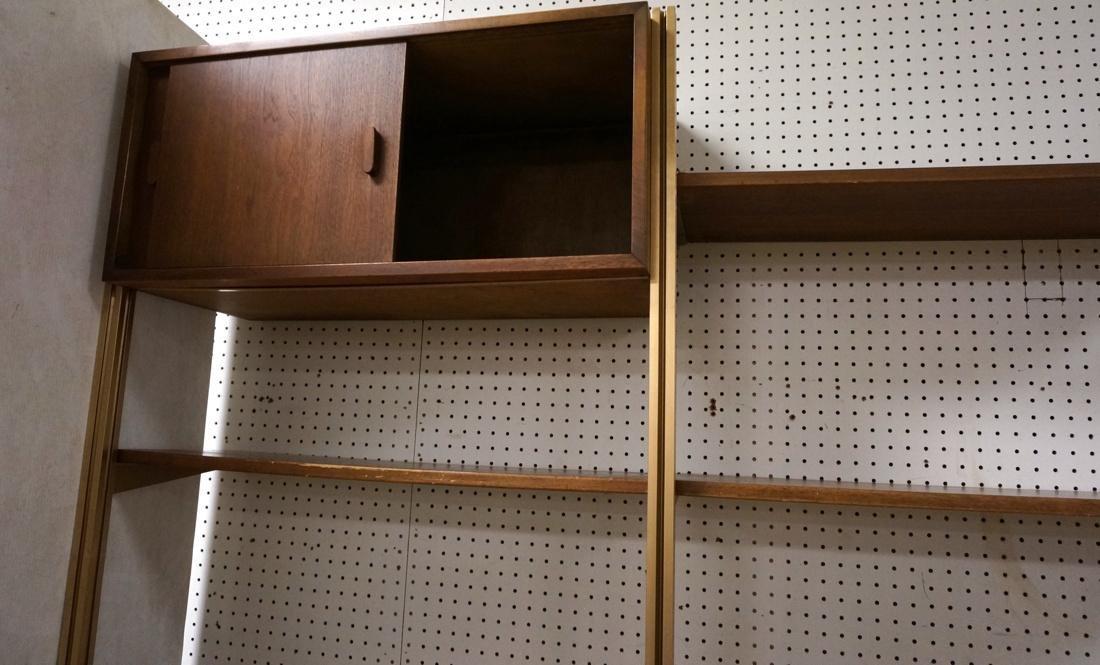Danish Teak Modern Wall Shelf Unit. 5 Cabinets. 5 - 7