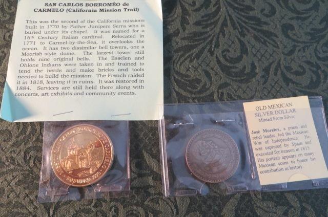 Medallion & Silver Dollar