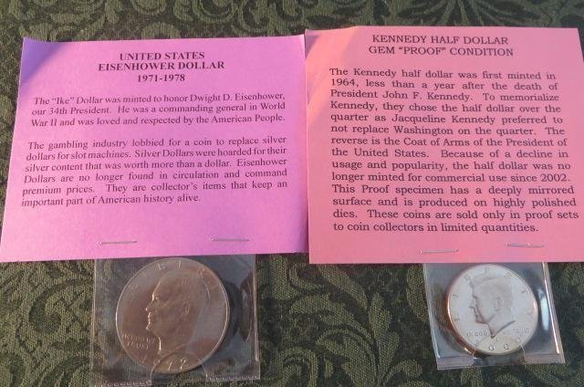 Lot of 2  US Coins