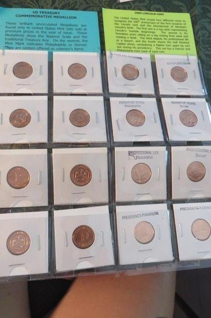 Lot of Coins and Medallions
