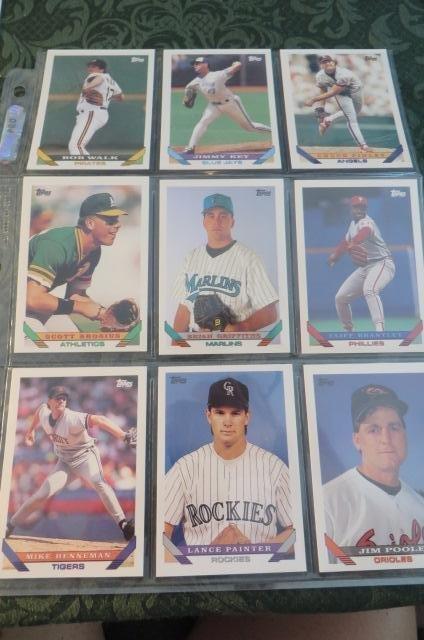 Lot of Baseball Cards