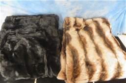 Faux Fur Throw Blankets