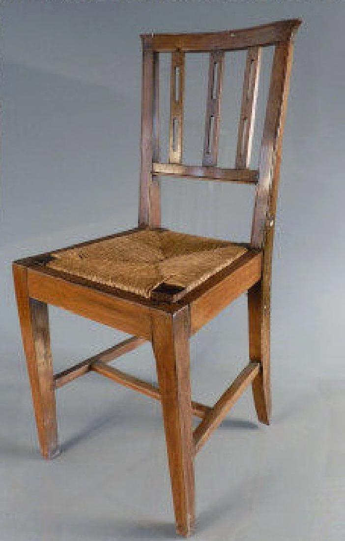 Late 18th C. English Hepplewhite Chairs