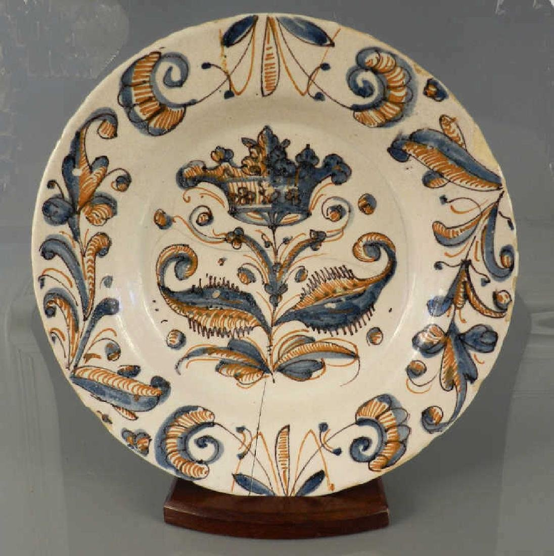 17th/18th Century Spanish Majolica Charger
