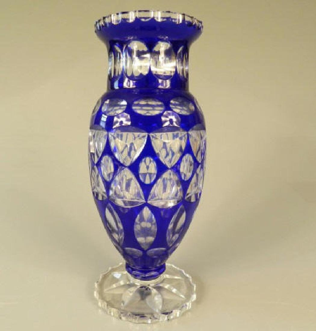 Bohemian Crystal Vase