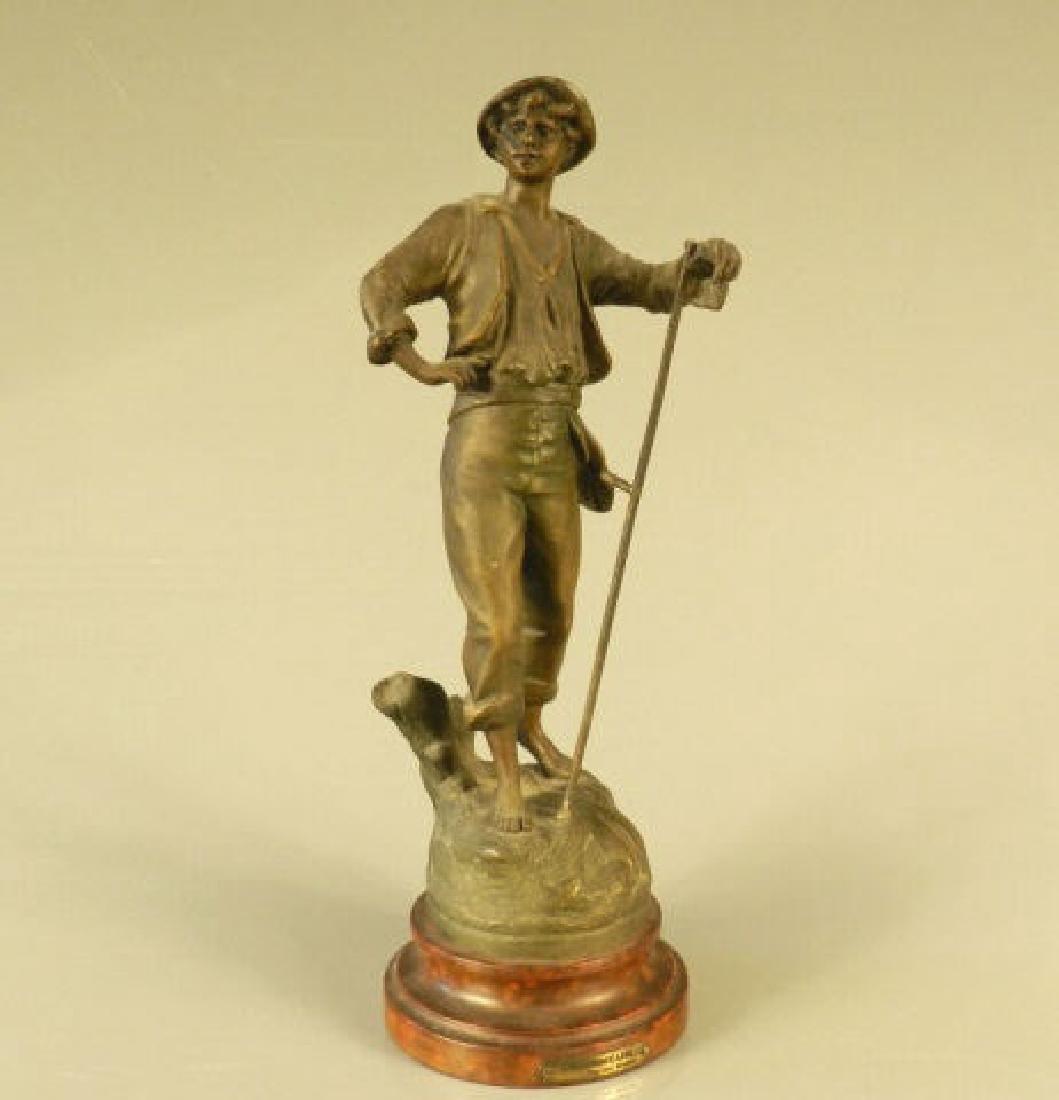 Geo Maxim Bronze Sculpture