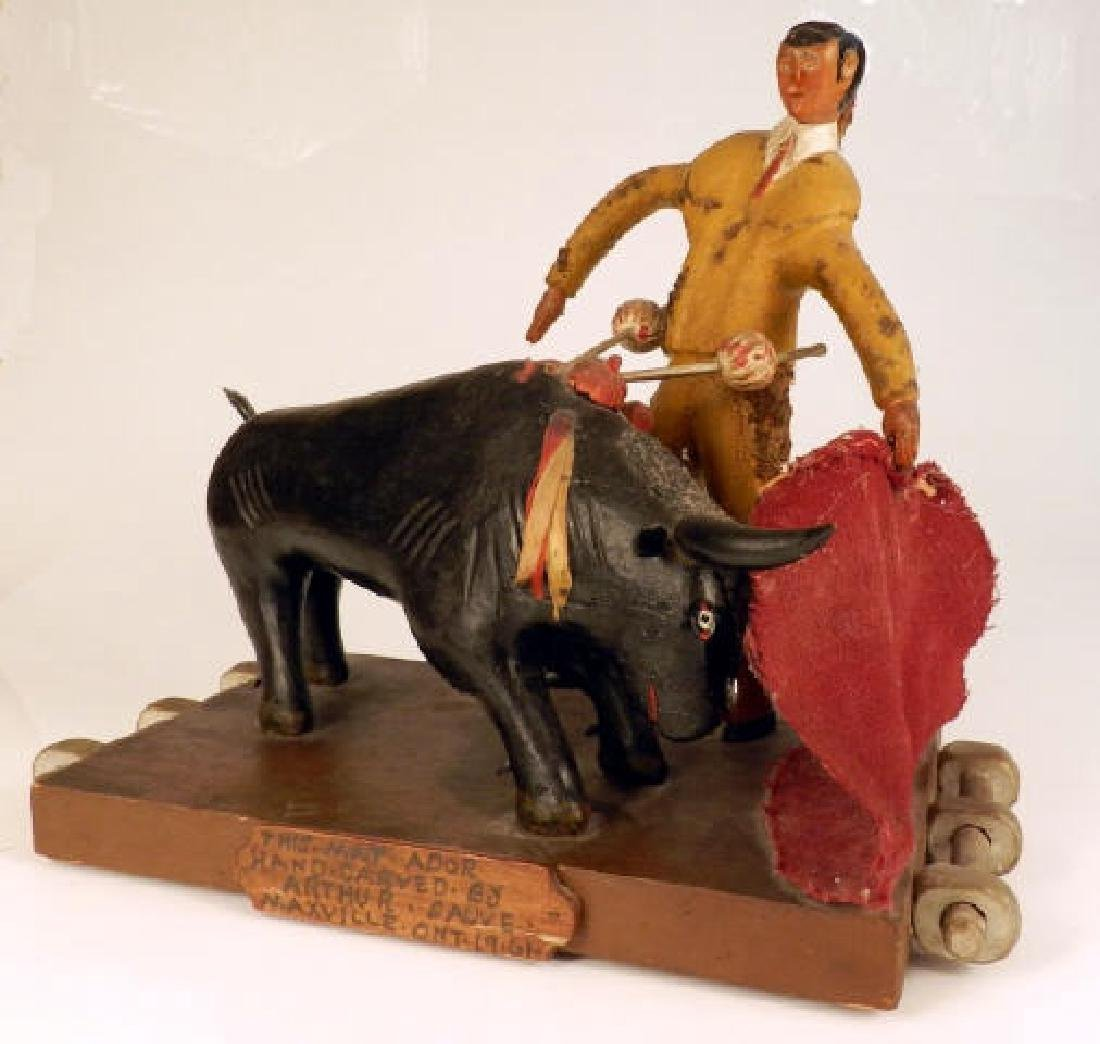 Folk Art - Arthur SAUVE (1896-1973, Maxville, ON)