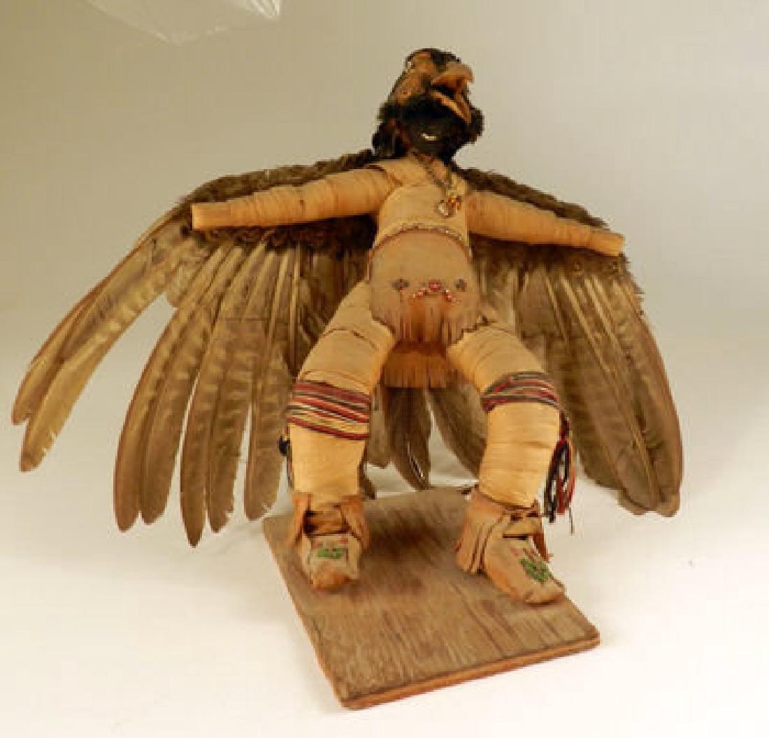 "First Nations False Face Doll ""Eagle Dancer"" An"