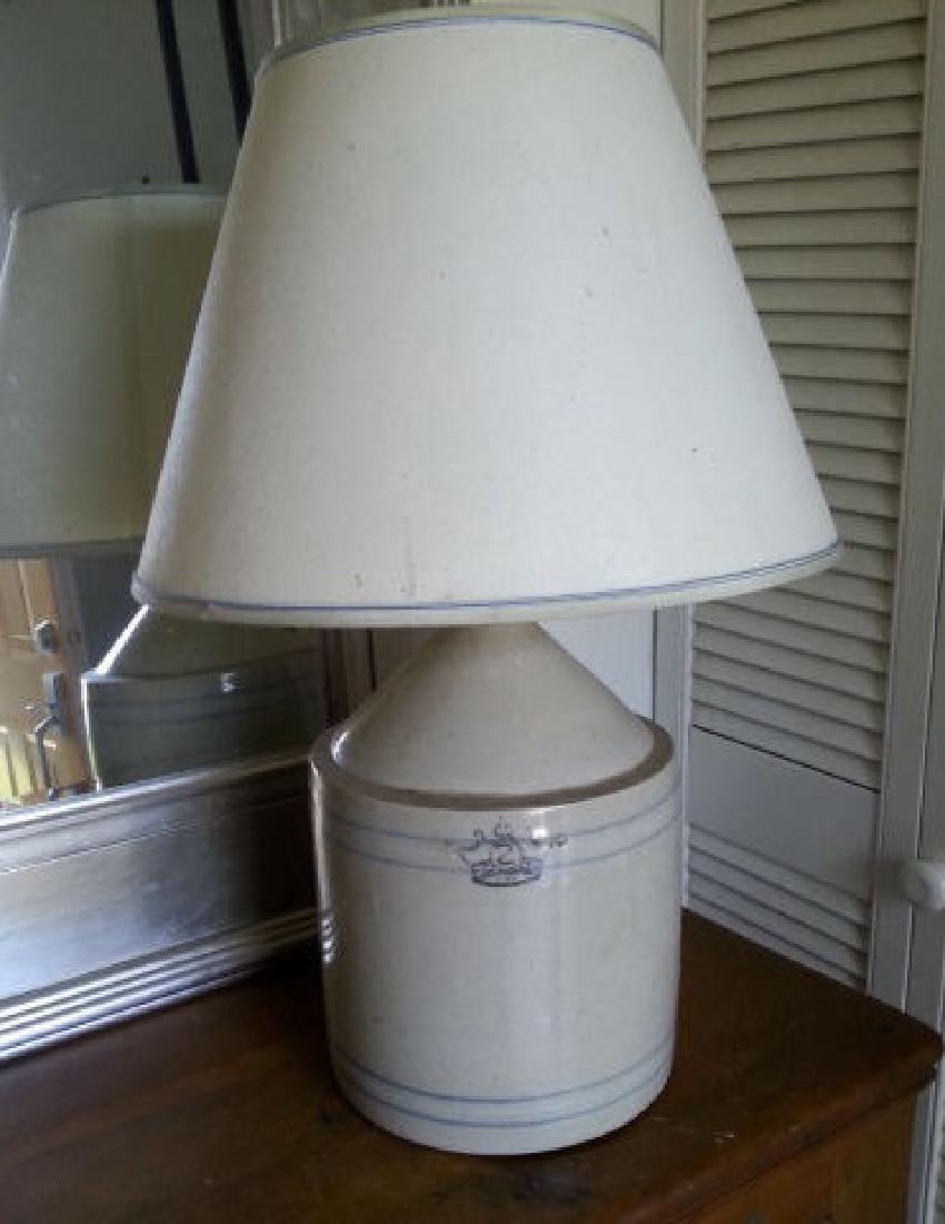 Two Gallon Crock Now Lamp Two gallon crock now a lamp