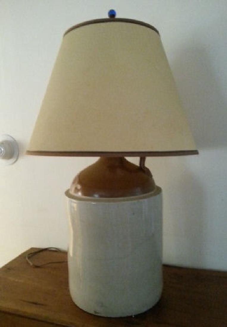 Three Gallon Crock Now Lamp Three gallon crock now a