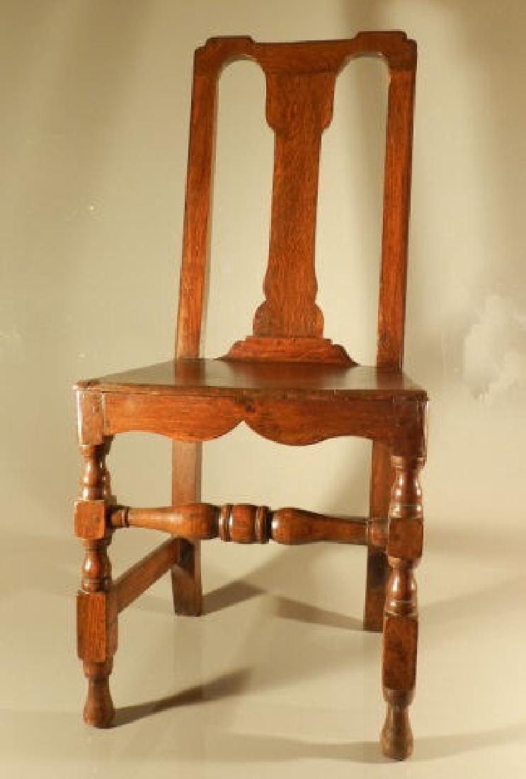 Single Oak Side Chair