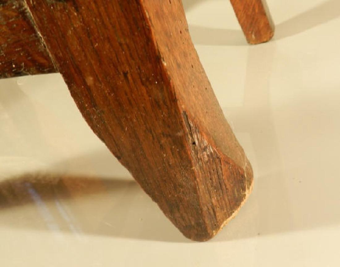 Single Oak Side Chair - 4
