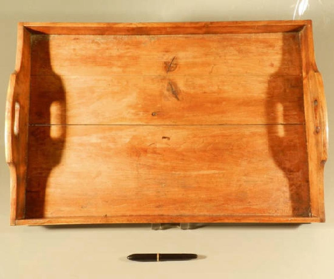 Fruitwood Gallery Tray
