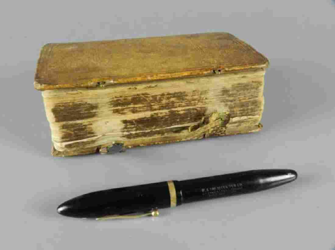 Rare Antique Book Religious Dated 1668