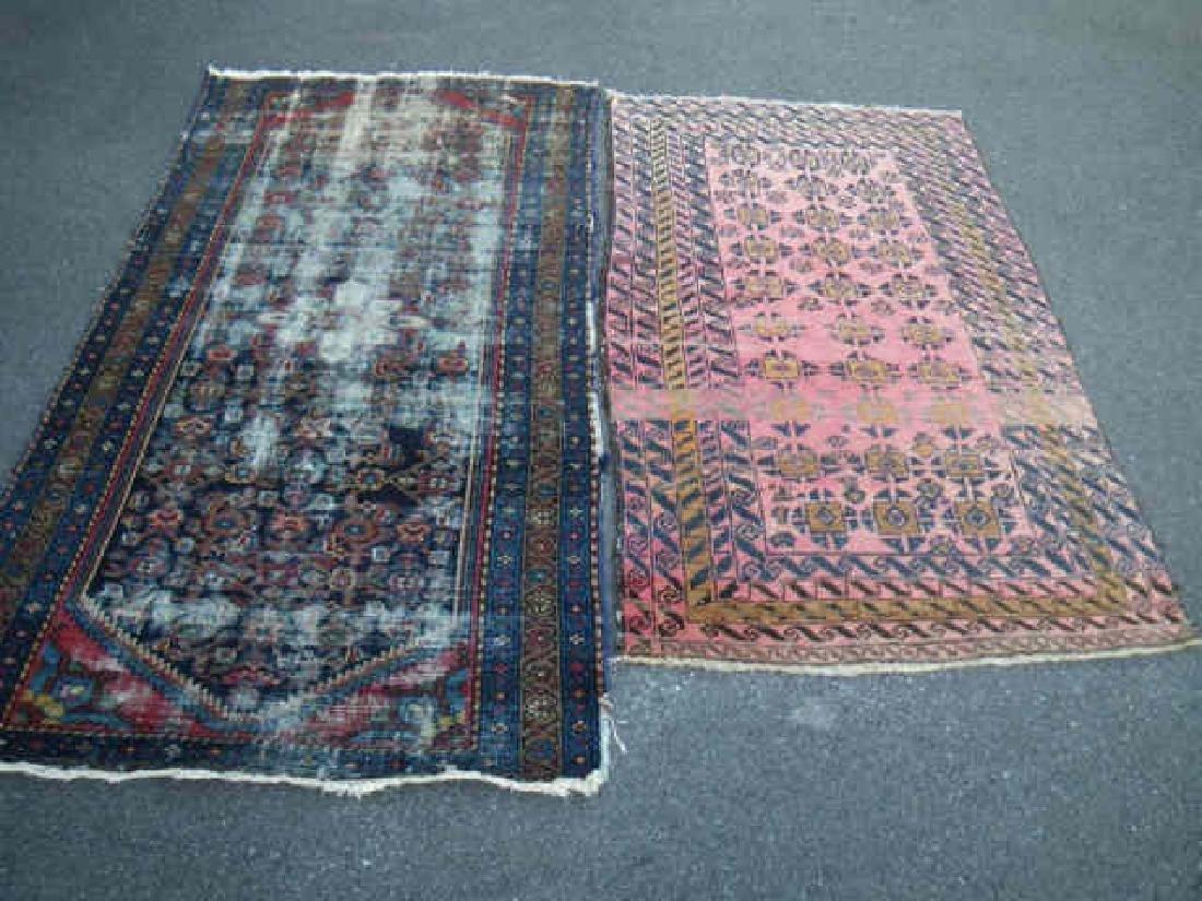 Beluchi Rug & Circa 1930 Hamadan Rug