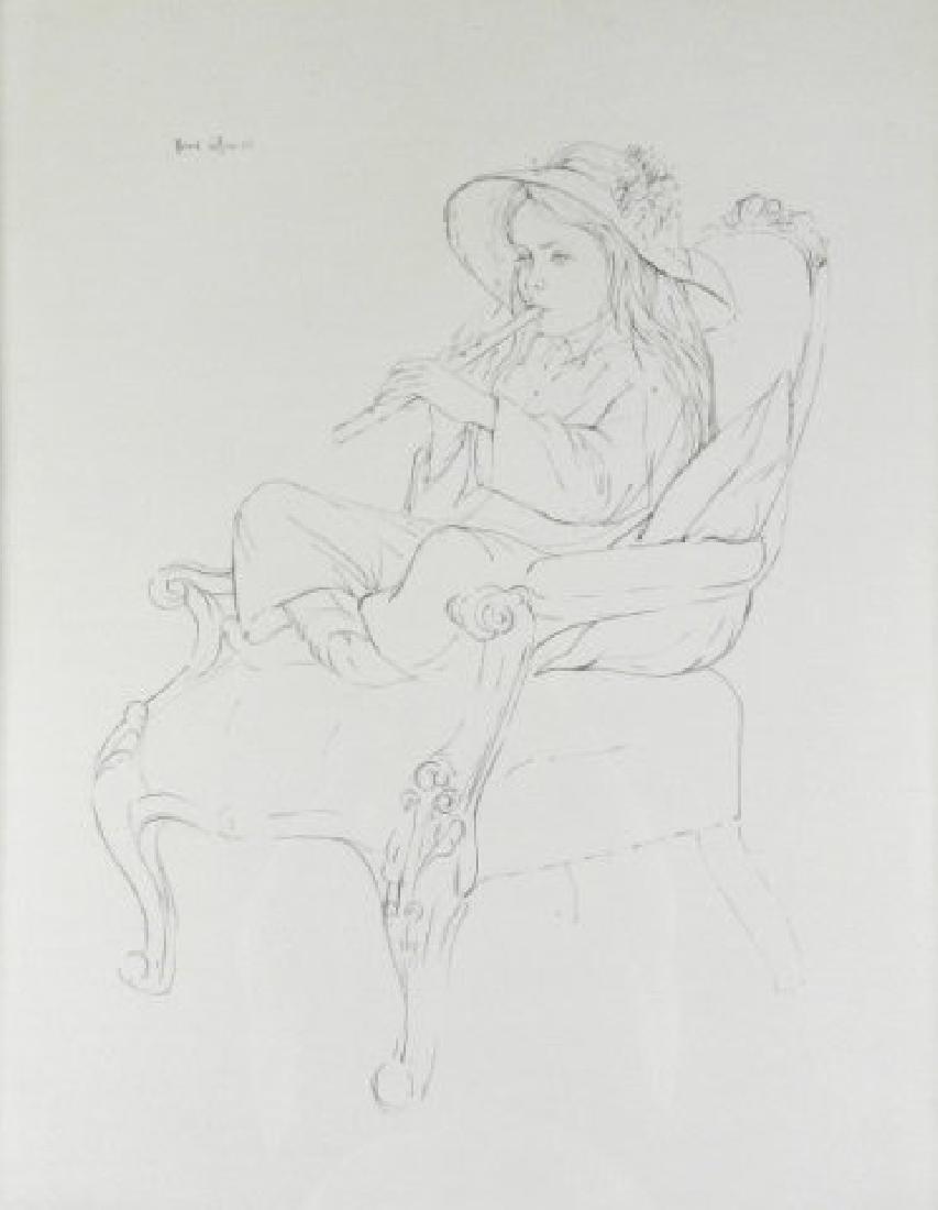 Art - Fred J. ROSS (1927-2014, Canadian)
