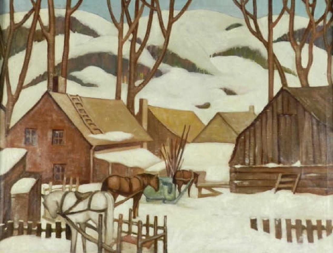 Art - Attr. L. L. FITZGERALD (1890-1956, CAN)