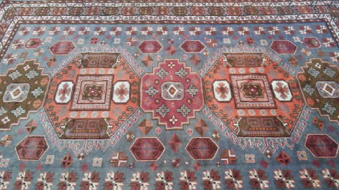 Circa 1960 Turkish Hand-Woven Kazak