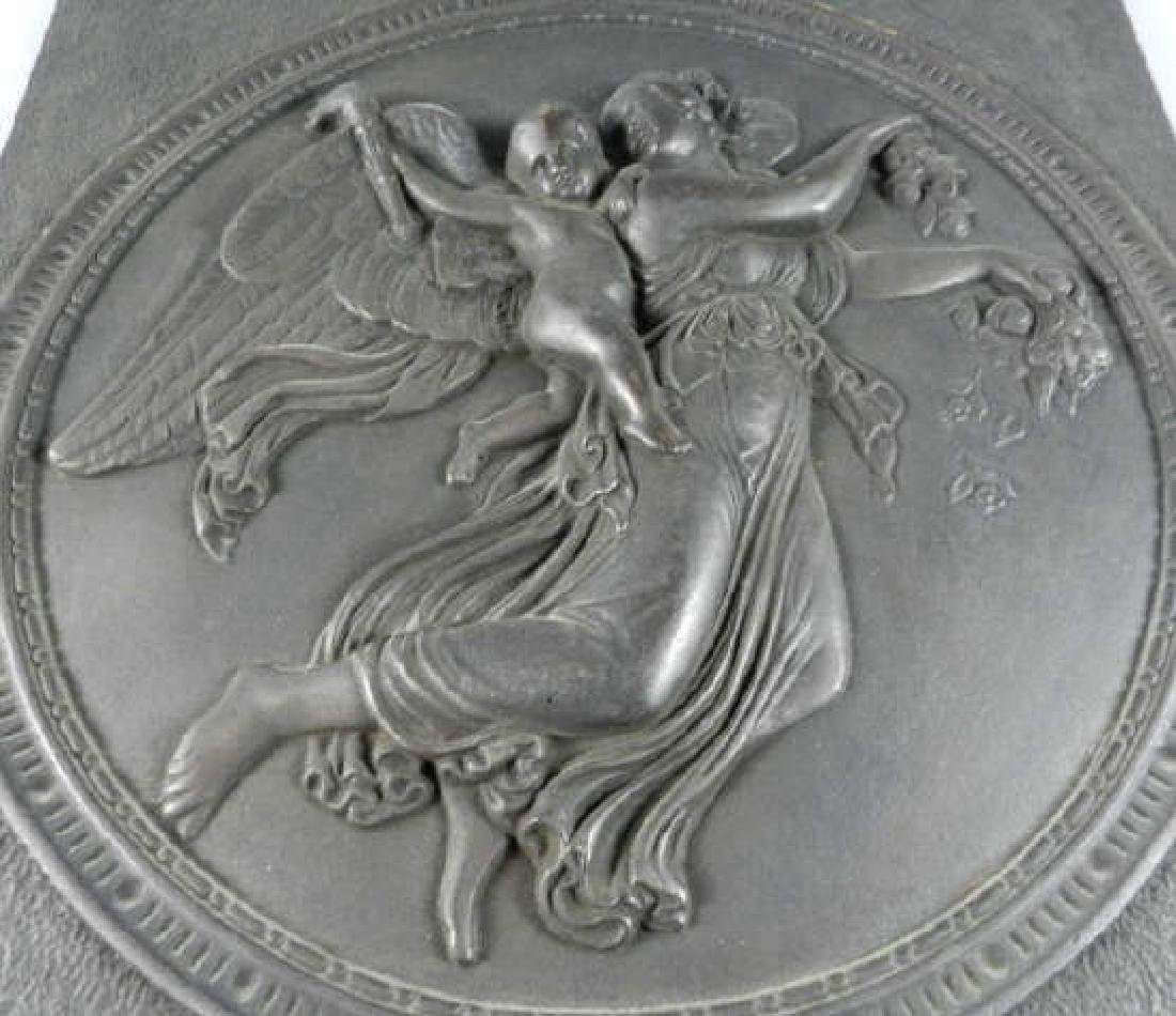Large Cast Iron Relief After Thorvaldson