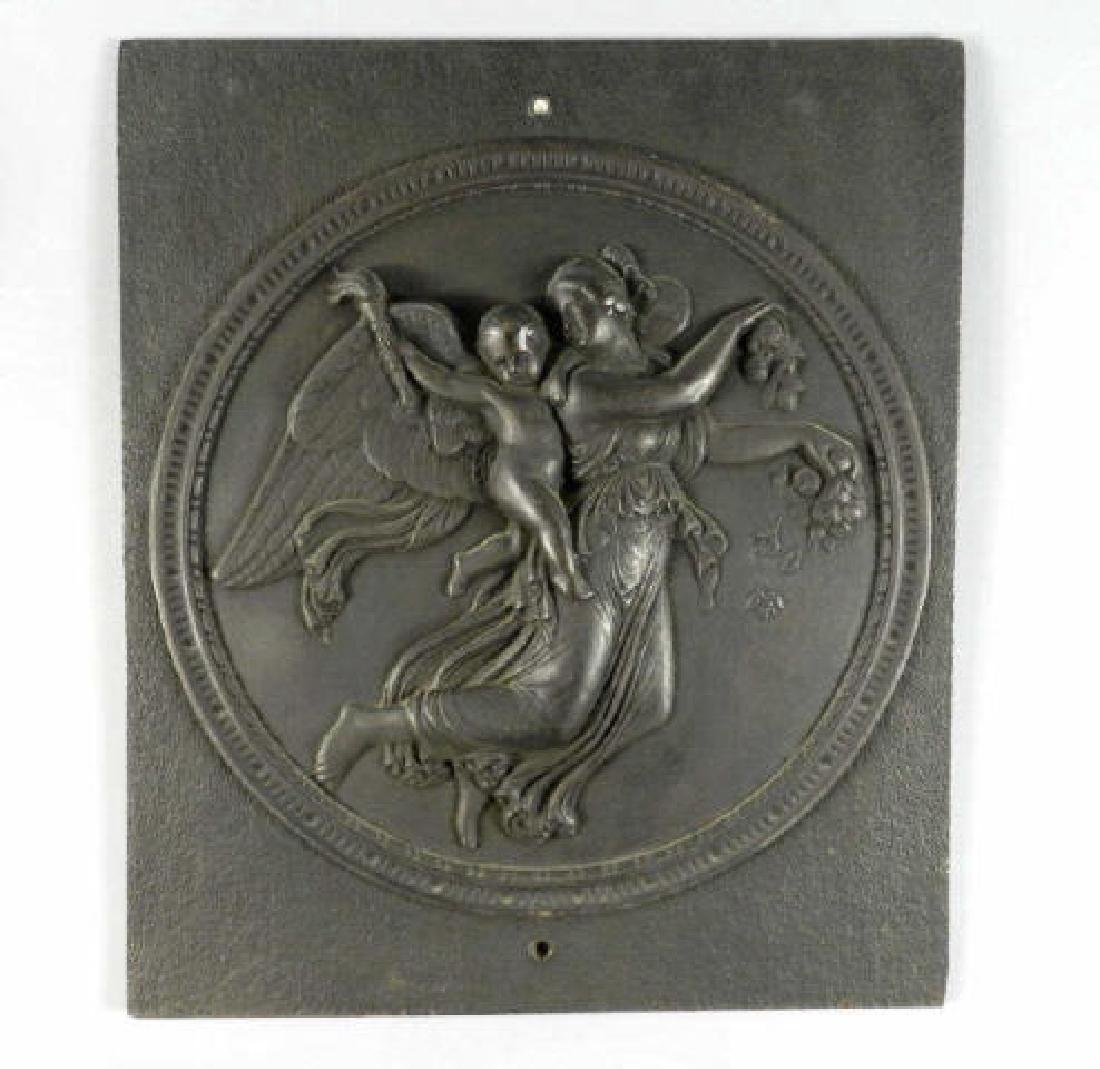 Large Cast Iron Relief After Thorvaldson - 2