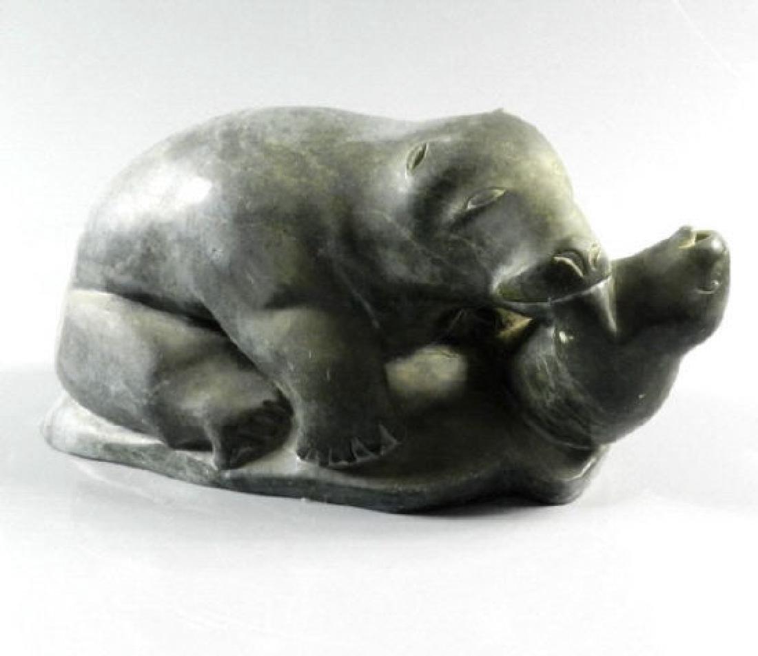 Inuit Art - David NUVALINGA (b. 1925, Nunavik)