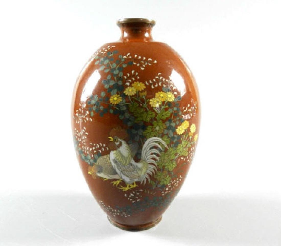 19th Century Cloisonne Vase
