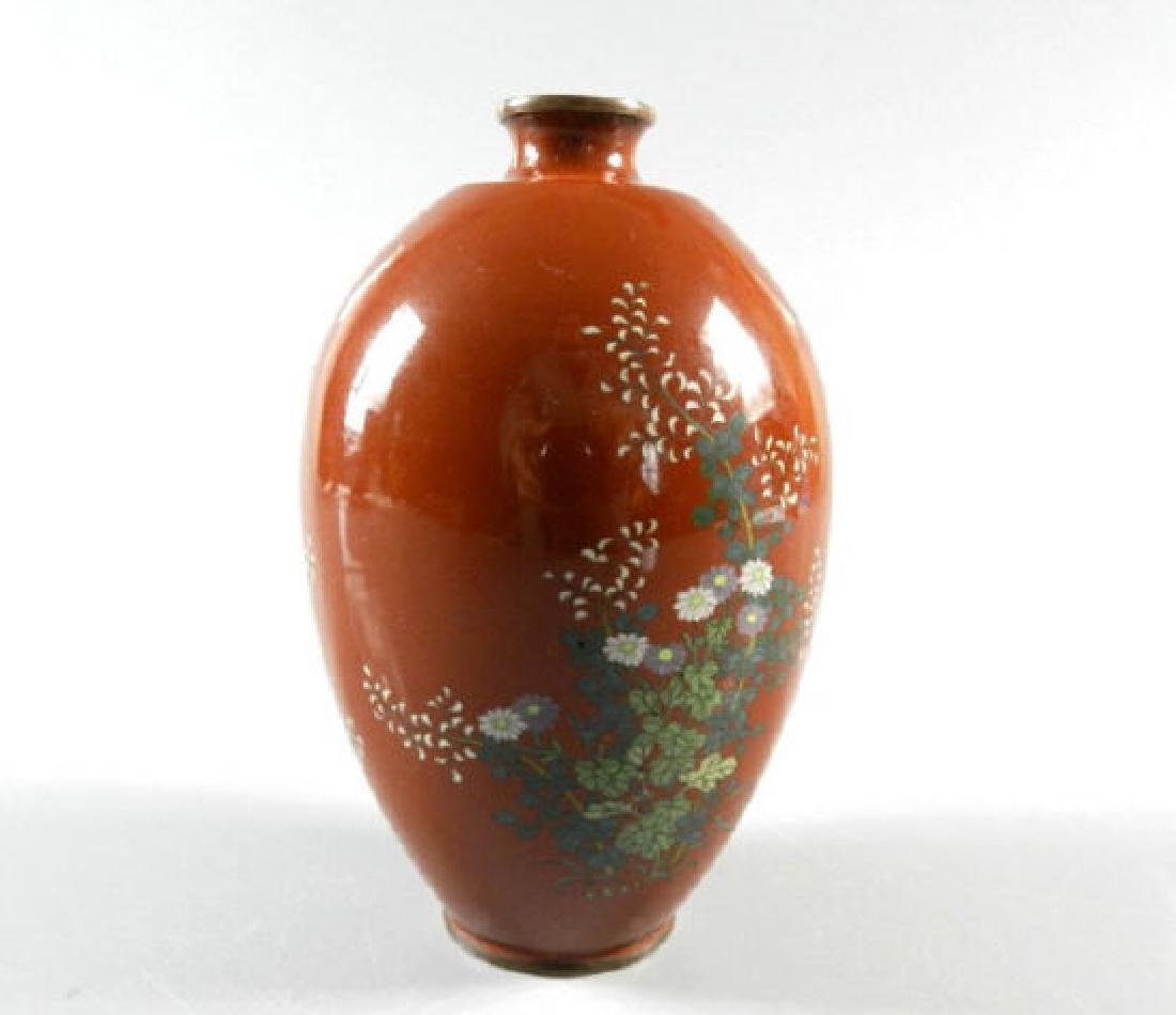 19th Century Cloisonne Vase - 2