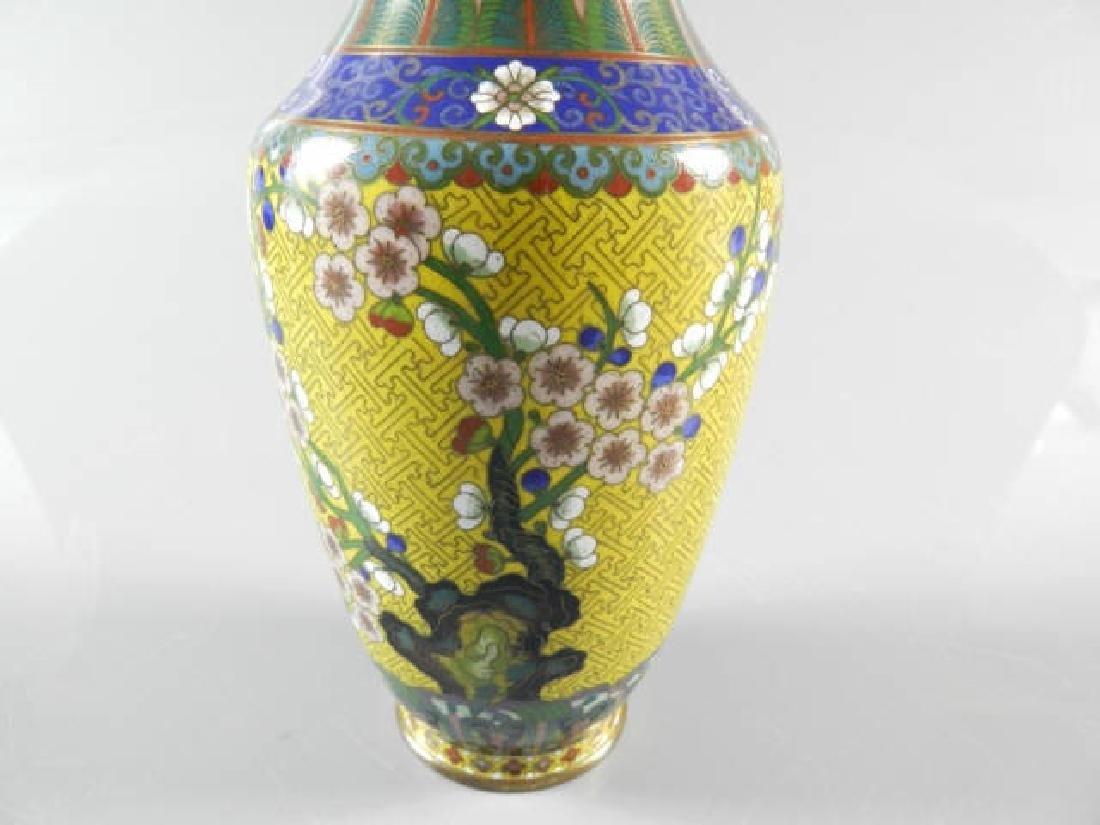 Chinese Cloisonne Vase - 6