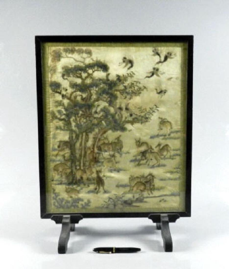 Mid-19th Century Chinese Silk Embroidery - 2