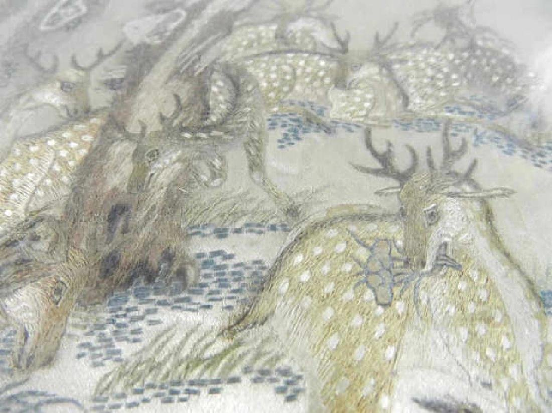 Mid-19th Century Chinese Silk Embroidery - 4